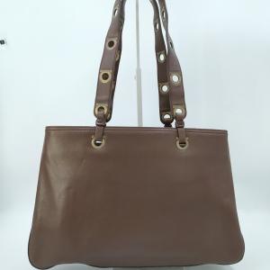 Ferragamo 菲拉格慕深棕色手提包