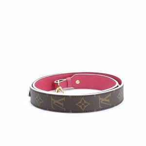 Louis Vuitton 路易·威登老花玫粉肩带