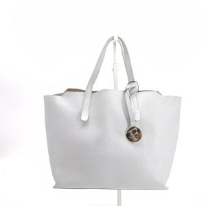 Furla 芙拉浅灰色手提包