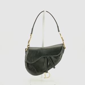 Dior 迪奥SADDLE黑色马鞍单肩包