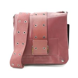 Dior 迪奥红色羊皮中性斜挎单肩包
