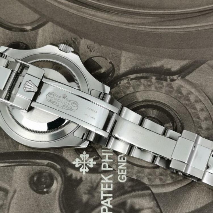 Rolex劳力士游艇名仕蓝盘男士机械表