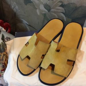 Hermès爱马仕男士凉拖鞋