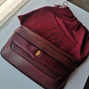 Cartier卡地亚手包/手拿包vintage复古红