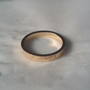 Cartier卡地亚戒指55号
