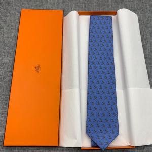 Hermès爱马仕男士领带