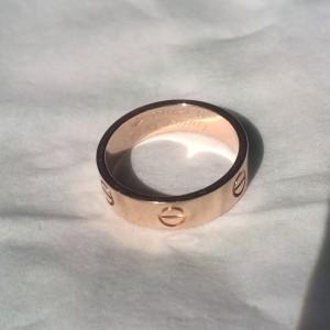 Cartier卡地亚戒指59号