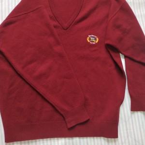 Burberry博柏利中古vintage羊毛针织衫