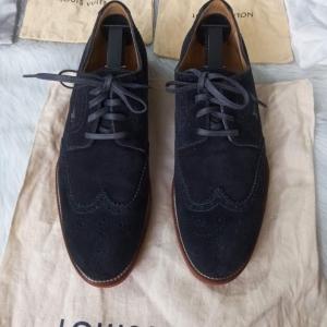 Louis Vuitton男士休闲鞋布洛克雕花男鞋