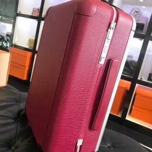 Louis Vuitton女士水波纹粉色旅行箱