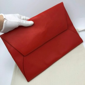 LOEWE罗意威红色女士信封手拿包