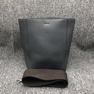 Celine赛琳sangle系列灰色水桶包可单肩背
