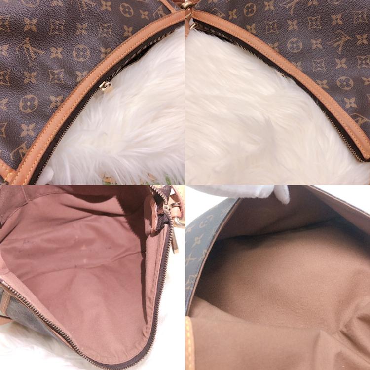 Louis Vuitton 路易·威登老花复古英伦风月牙单肩包