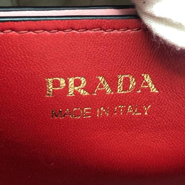 PRADA 普拉达19年新款女士水桶手提包