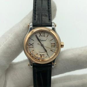 Chopard萧邦女士机械表快乐钻 女士腕表