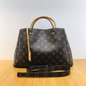 Louis Vuitton 老花蒙田手提包