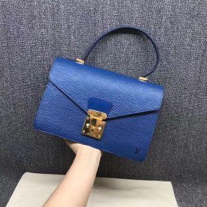 Louis Vuitton epi水波纹手提包