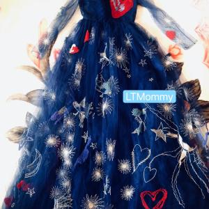 Valentino华伦天奴女士秀款连衣裙