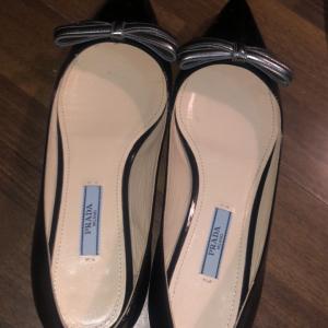 PRADA普拉达女士平底鞋