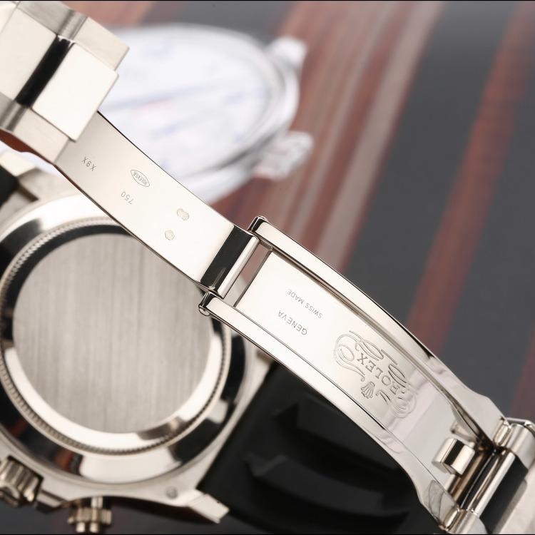 劳力士宇宙计型迪通拿系列18K白金自动机械男表
