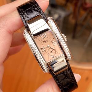Chopard 萧邦女士原镶钻石英腕表