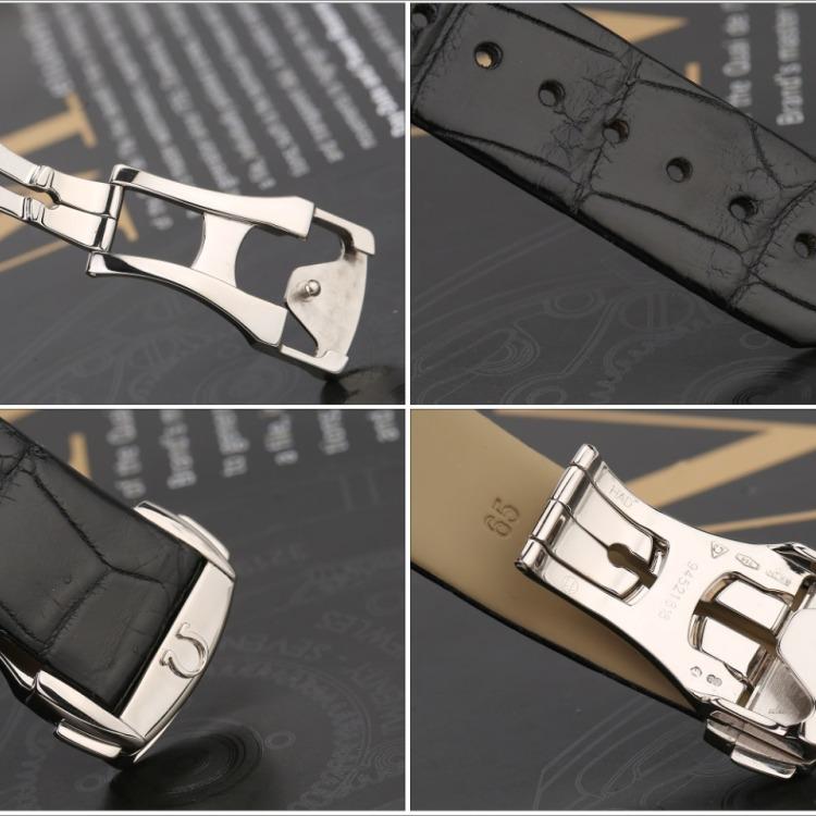 欧米茄星座系列18k白金原镶钻自动机械女表