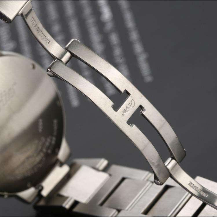 卡地亚蓝气球系列精钢自动机械中性表 腕周180mm