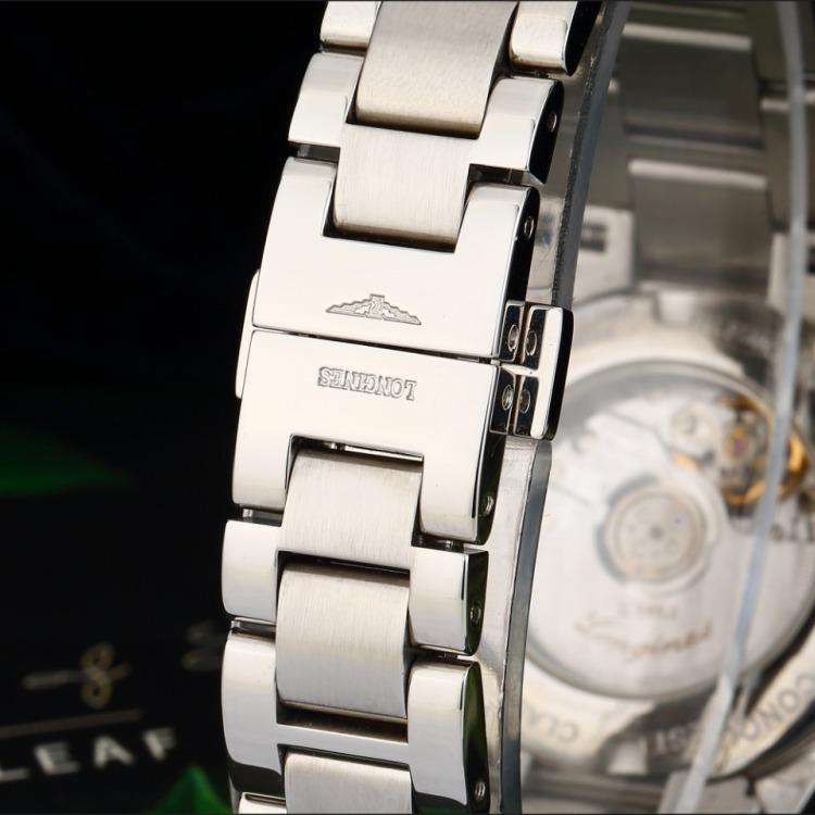 浪琴康铂系列精钢自动机械女表 腕周160mm