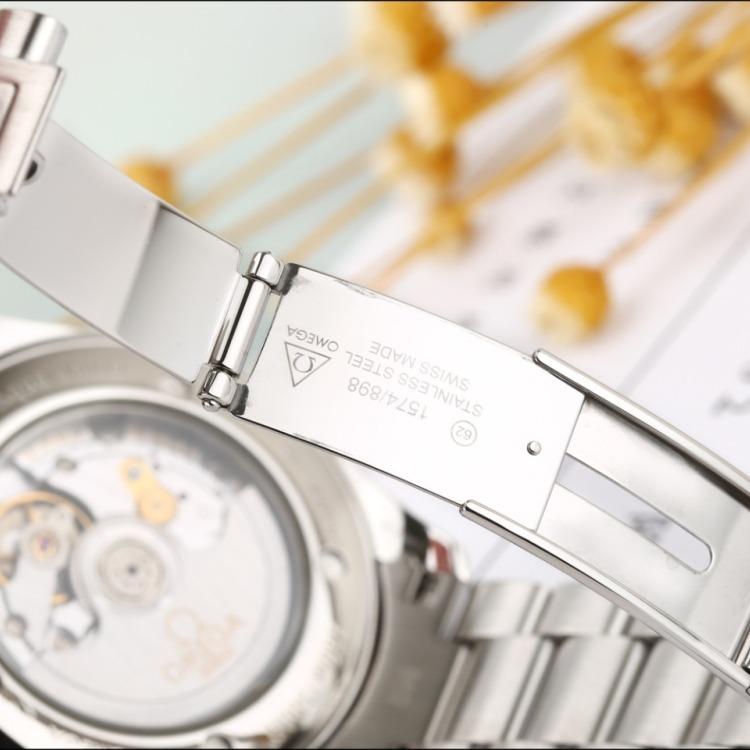 欧米茄海马系列精钢自动机械男表 腕周180mm