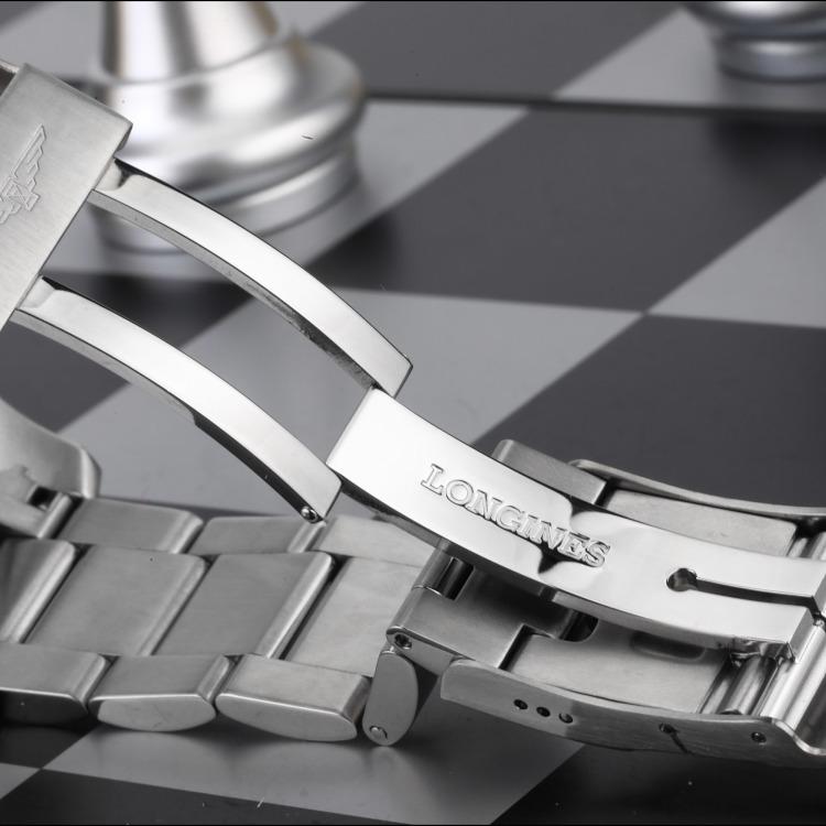 19年浪琴运动系列精钢自动机械男表 腕周180mm