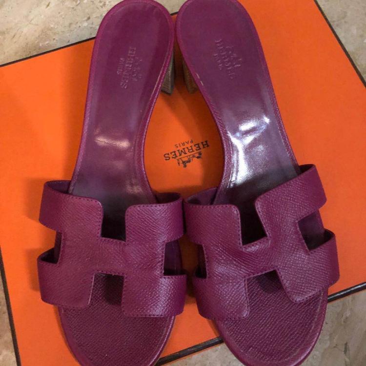 Hermès爱马仕女士中跟鞋