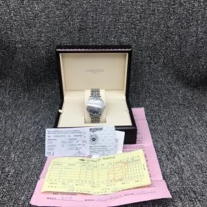 LONGINES浪琴L4.910.4.57.6传统系列男士自动机械腕表