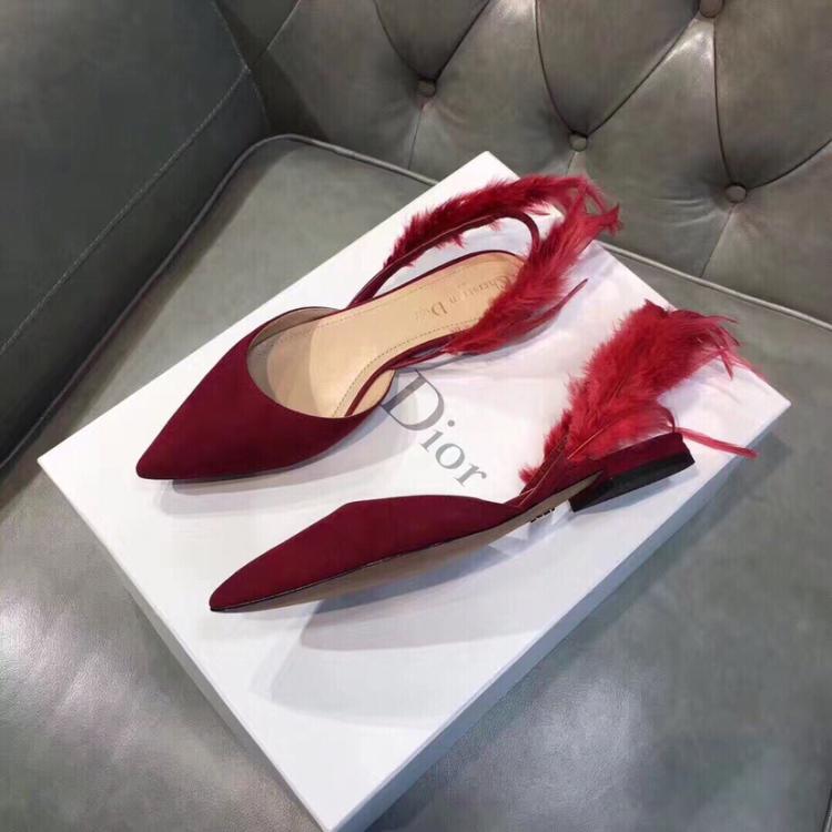 Dior迪奥女士低跟鞋
