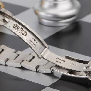 劳力士蚝式恒动系列18K白金圈精钢原镶时标钻自动机械女表