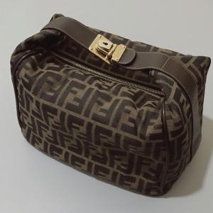 FENDI老花手提包遛狗包便当包饭盒包