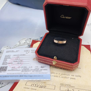 Cartier卡地亚61号戒指