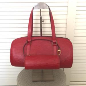 Louis Vuitton水波纹子母水桶手提包