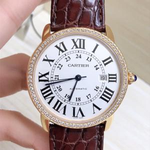 Cartier男士机械表