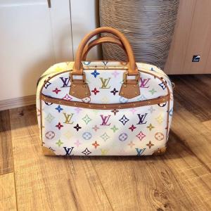 Louis Vuitton 白三彩珍妮女士手提包