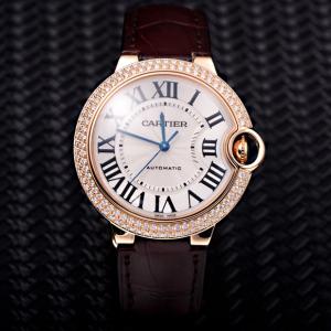 Cartier卡地亚蓝气球WJBB0009原钻女士机械表