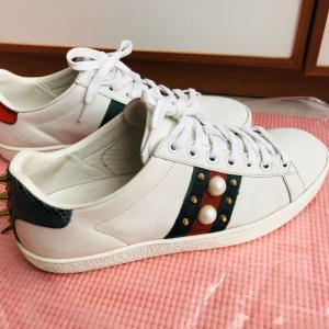 GUCCI女士运动鞋