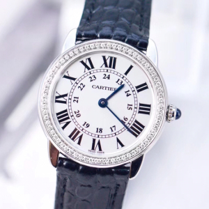 Cartier女士石英表