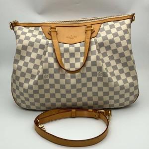 Louis Vuitton白棋盘女士手提单肩包
