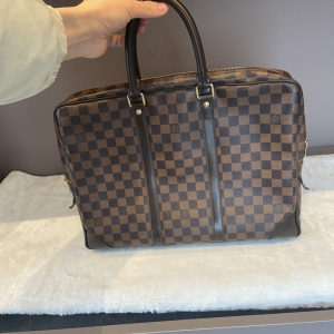 Louis Vuitton男士公文包棋盘格