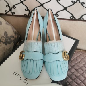 GUCCI 古驰女士低/中跟鞋