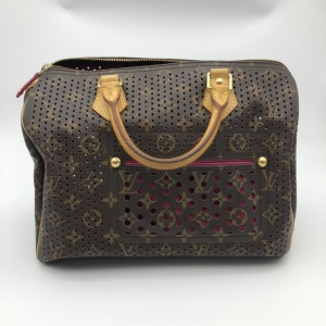 Louis Vuitton镂空限量款speedy30 手提包枕头包