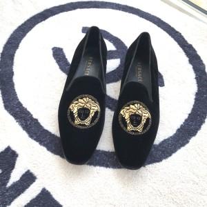 Versace范思哲男士平底鞋