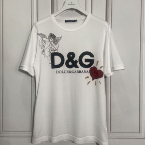 DOLCE&GABBANA 杜嘉班纳爱神短袖T恤