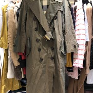 Burberry 博柏利女士变色龙轻薄嘎巴甸trench风衣