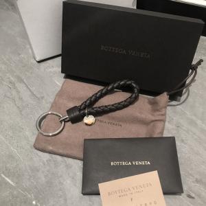 Bottega Veneta葆蝶家经典编织钥匙扣/挂件